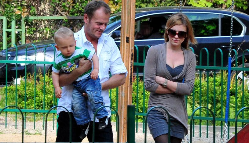 Kasia lubi spędzać czas w towarzystwie taty /Maciej Gostynski/SE /East News