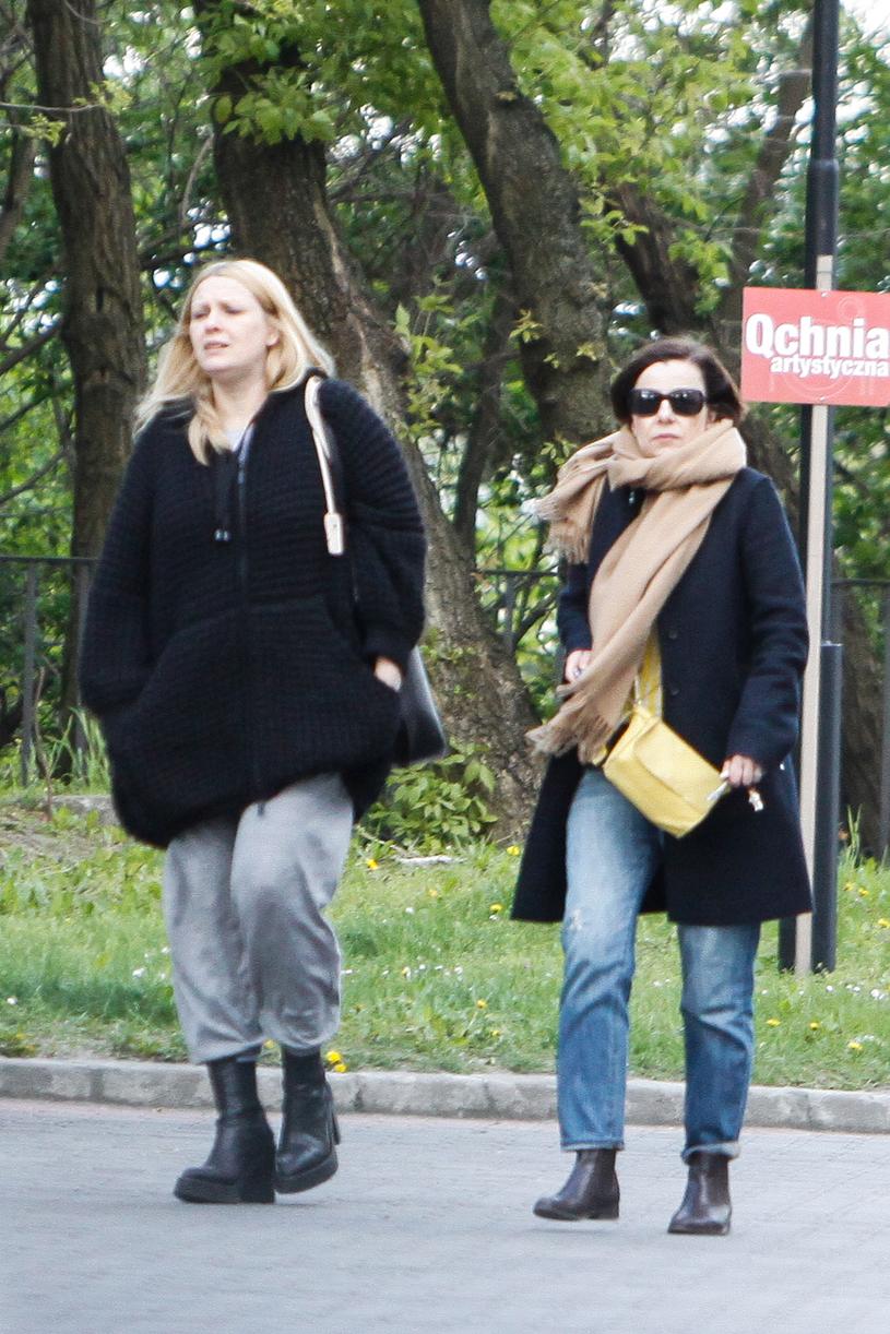 Kasia Nosowska i Agata Kulesza /Foto IP