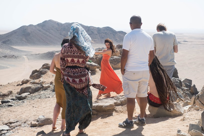 Kasia Nova w Egipcie /P. Fotek /Reporter