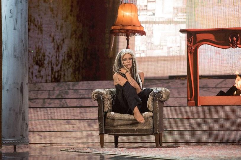 Kasia Popowska jako Christina Aguilera /M.Zawada /Polsat