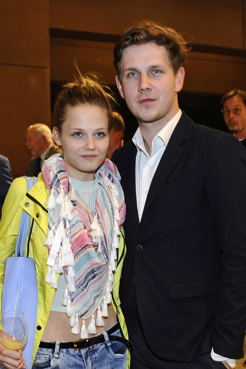 Kasia Sawczuk i Antek Królikowski na jednej z imprez /Niemiec /AKPA