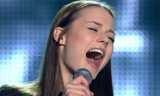 """Kasia Sawczuk w """"The Voice Of Poland"""": """"Byłam w dużym szoku"""" /TVP"""