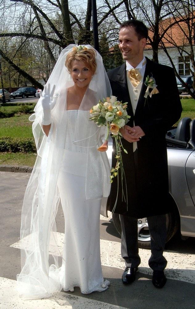 Kasia Skrzynecka i Zbyszek Urbański /- /East News