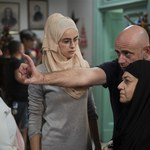 Kasia Smutniak jako muzułmanka