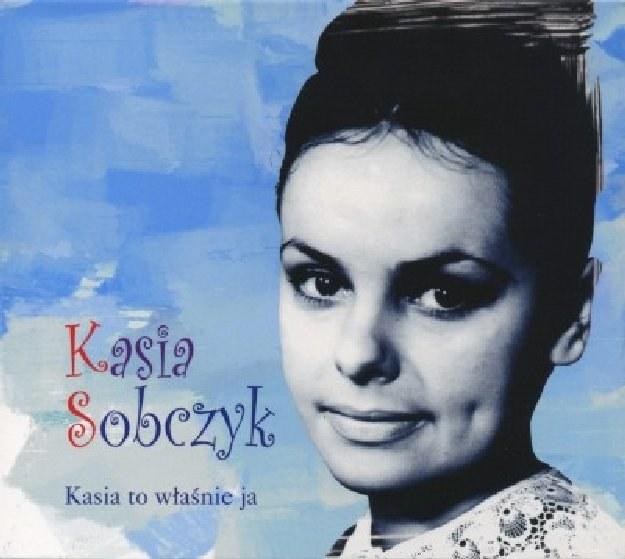 """Kasia Sobczyk na okładce płyty """"Kasia to właśnie ja"""" /"""