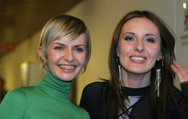 Kasia Stankiewicz i Monika Kuszyńska /Piotr Fotek /East News