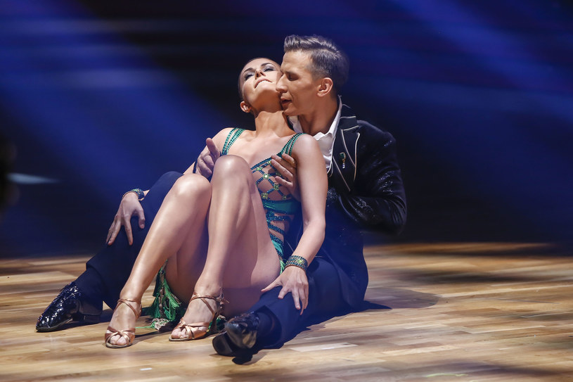 Kasia Stankiewicz tańczyła w parze z Tomaszem Barańskim /AKPA