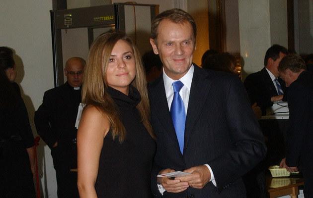Kasia Tusk, Donald Tusk  /MWMedia