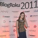 Kasia Tusk na gali Blog Roku