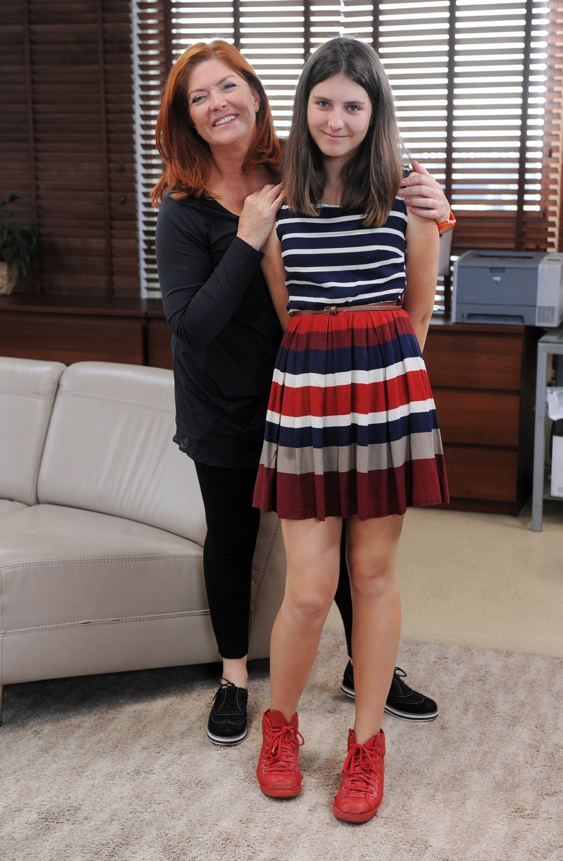 Kasia z córką /- /East News