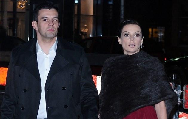 Kasia z mężem /- /MWMedia