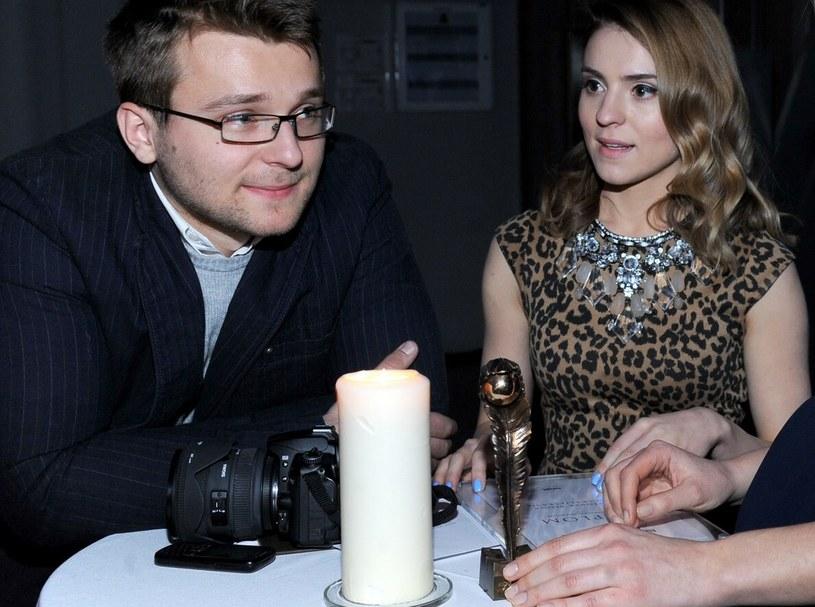 Kasia z mężem /VIPHOTO /East News
