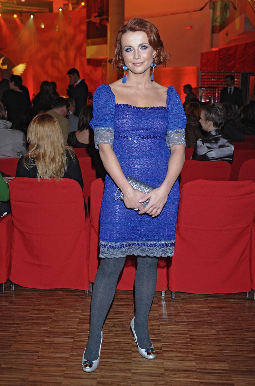 Kasia Zielińska - 2008 rok /MWMedia