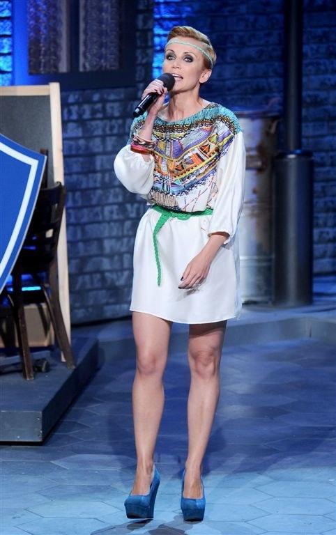 Kasia Zielińska wystąpiła na kabaretowej scenie Dwójki /Agencja W. Impact