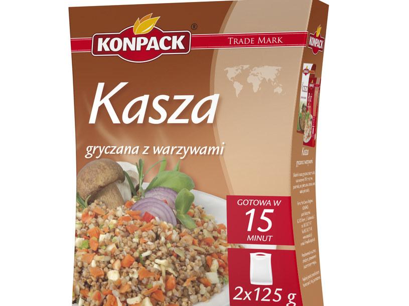 Kasza gryczana z warzywami  /Konpack /materiały prasowe