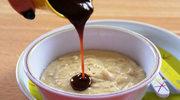 Kaszka owsiana z sosem śliwkowo-jabłkowym
