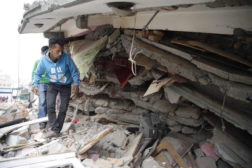 Kataklizm dotknął ponad 6 mln osób. /PAP/EPA