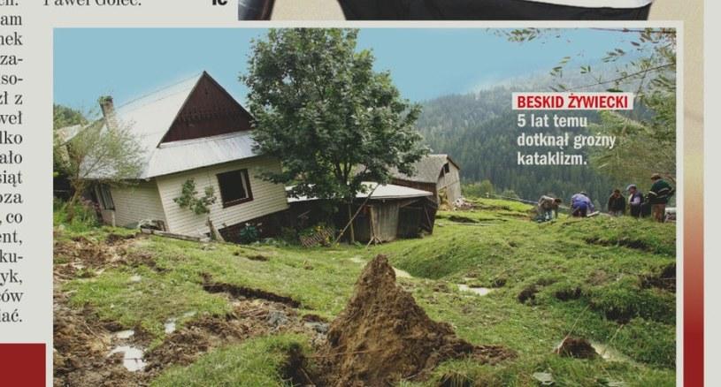 Kataklizm w Milówce /- /Rewia