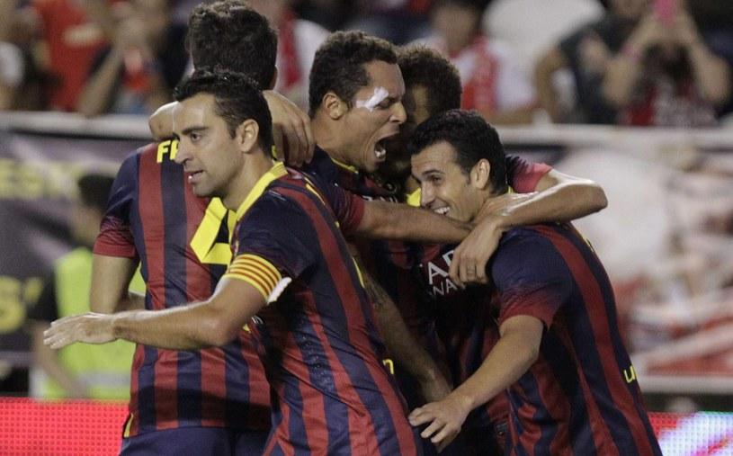 Katalończycy z kompletem zwycięstw prowadzą w Primera Division /AFP
