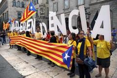 Katalońskie demonstracje za referendum