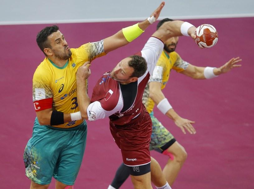 Katar wygrał z Brazylią w pierwszym meczu MŚ piłkarzy ręcznych /PAP/EPA