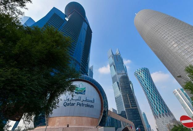 Katarczycy wycofują się z kartelu OPEC. Nz. siedziba Qatar Petroleum w Dausze /EPA