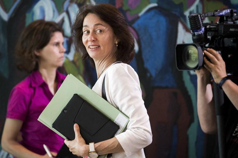Katarina Barley /ODD ANDERSEN /AFP