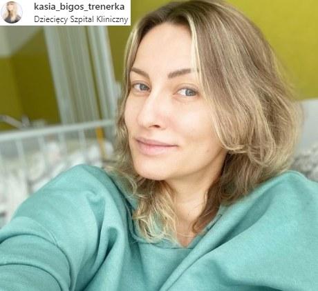 Katarzyna Bigos miała poważny wypadek. Teraz ostrzega swoje fanki /Instagram