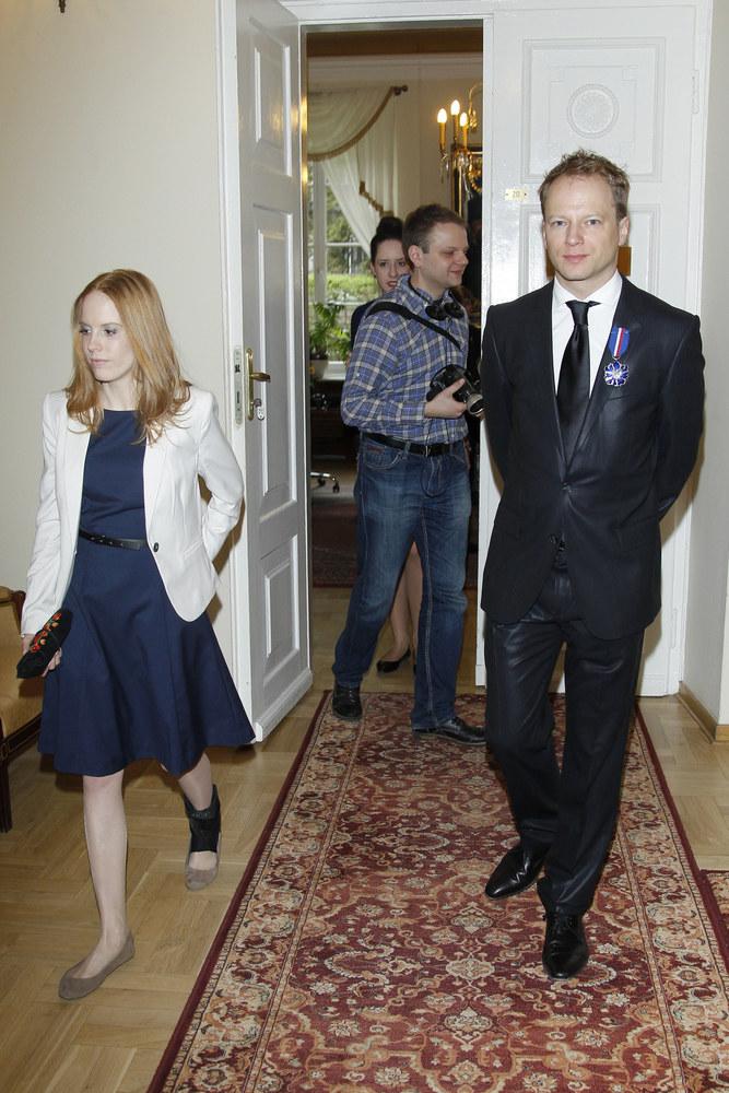 Katarzyna Błażejewska i Maciej Stuhr /Podlewski /AKPA