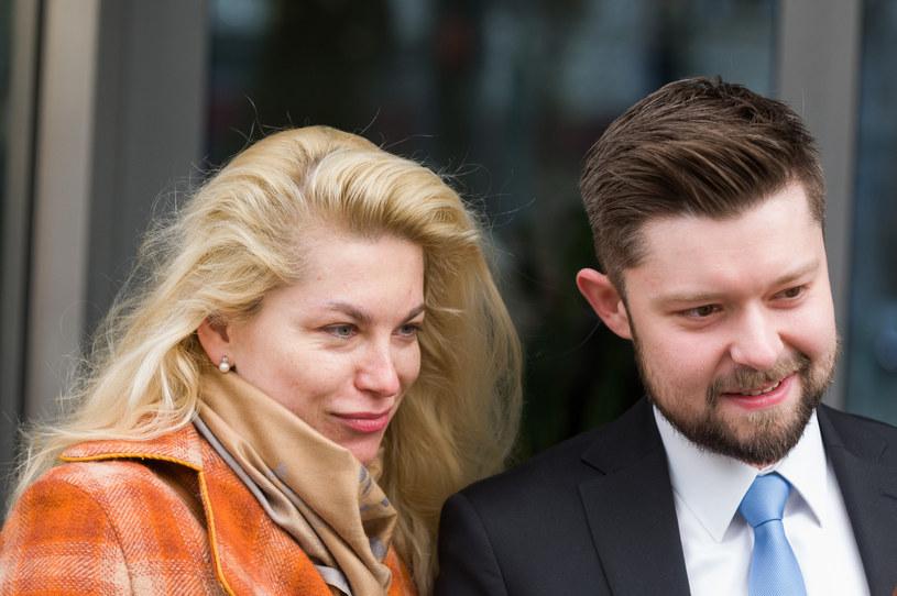 Katarzyna Bonda i Remigiusz Mróz /Zawadzki /Reporter