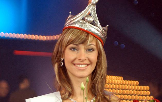 Katarzyna Borowicz zdobyła tytuł Miss Polonii w 2004 roku /Niemiec /AKPA