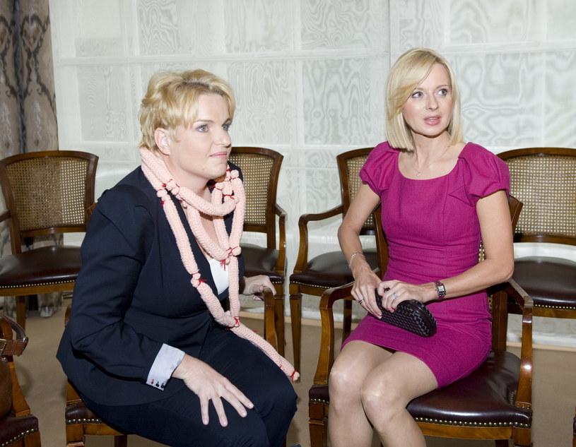 Katarzyna Bosacka i Jolanta Pieńkowska /- /MWMedia