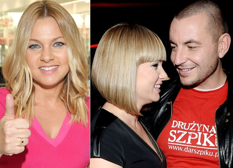 Katarzyna Bujakiewicz z mężem /Agencja W. Impact