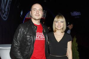 Katarzyna Bujakiewicz z partnerem Piotrem Maruszewskim /fot  /AKPA
