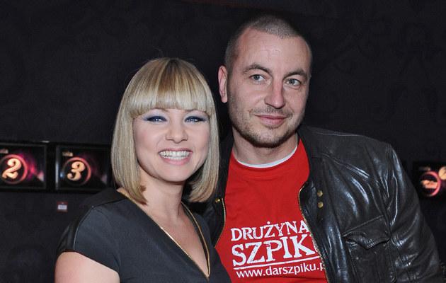 Katarzyna Bujakiewicz z partnerem /Andras Szilagyi /MWMedia