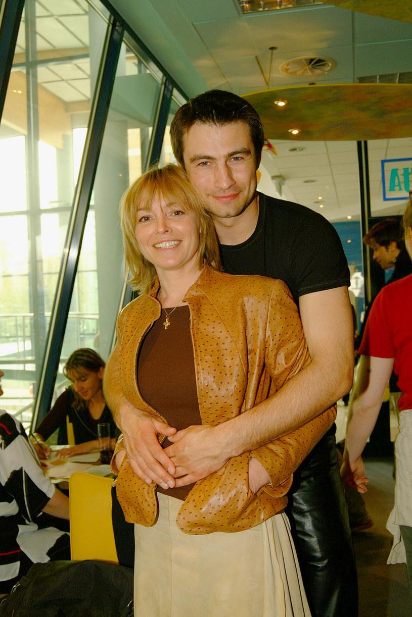Katarzyna Chrzanowska i Waldemar Goszcz /- /AKPA