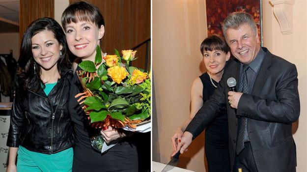 """Katarzyna Cichopek, czyli Kinga Zduńska z """"M jak miłość"""", była jednym z gości imprezy urodzinowej Teatru Kamienica. /  /Agencja W. Impact"""