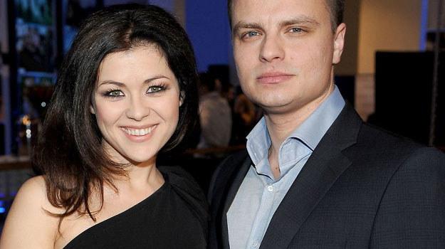 Katarzyna Cichopek i Marcin Hakiel to para, która co roku pojawia się na gali rozdania nagród Srebrnych Jabłek. /  /Agencja W. Impact