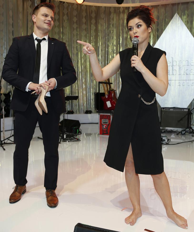 Katarzyna Cichopek i Marcin Hakiel /Podlewski /AKPA