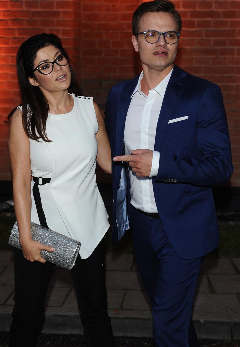 Katarzyna Cichopek i Marcin Hakiel /Piotr Andrzejczak /MWMedia