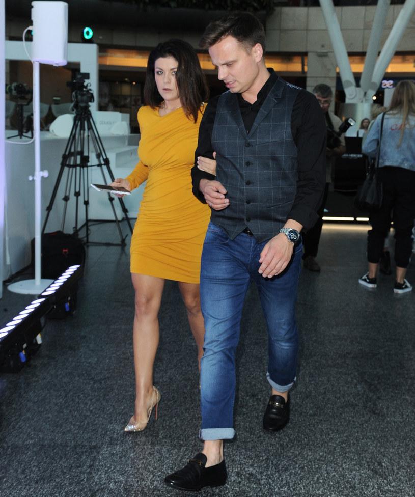 Katarzyna Cichopek i Marcin Hakiel /Artur Zawadzki /Reporter