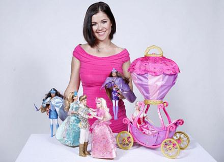 Katarzyna Cichopek reklamująca lalki Barbie /Media2.pl