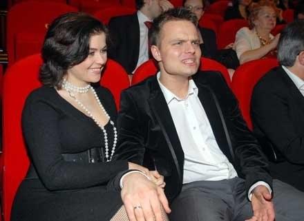 Katarzyna Cichopek z mężem, fot. Marek Ulatowski /MWMedia
