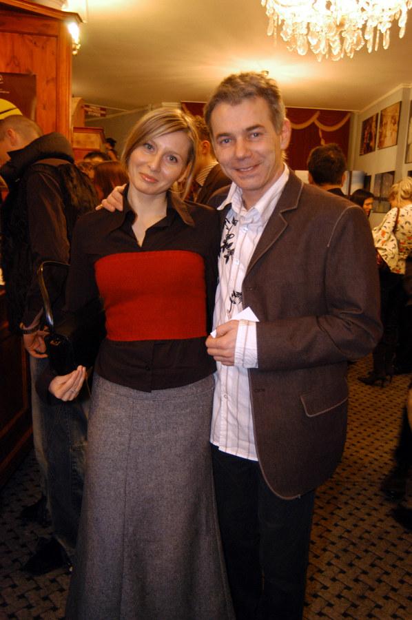 Katarzyna Dańska i Robert Janowski /- /AKPA