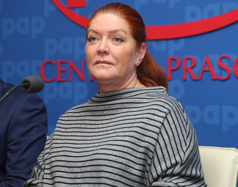 """Katarzyna Dowbor na konferencji prasowej """"Tarczyca - otocz ją opieką"""" /East News"""
