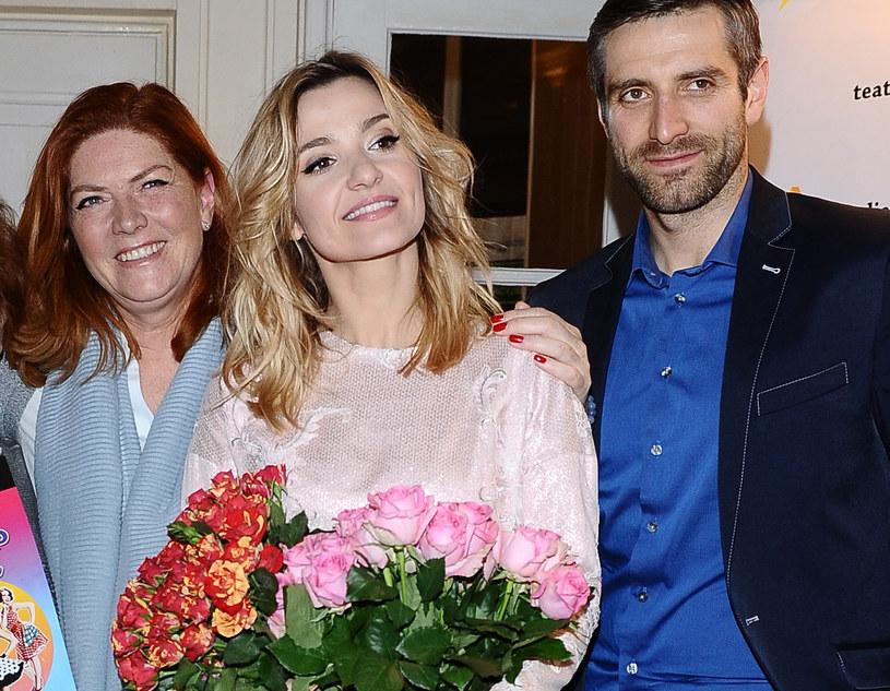 Katarzyna Dowbor opowiedziała o relacjach z synem i synową /Andras Szilagyi /MWMedia