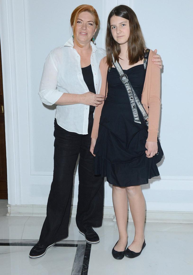 Katarzyna Dowbor z córką Marią Dowbor-Baczyńską /East News
