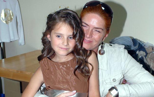 Katarzyna Dowbor z córką Marysią, fot. Marek Ulatowski  /MWMedia