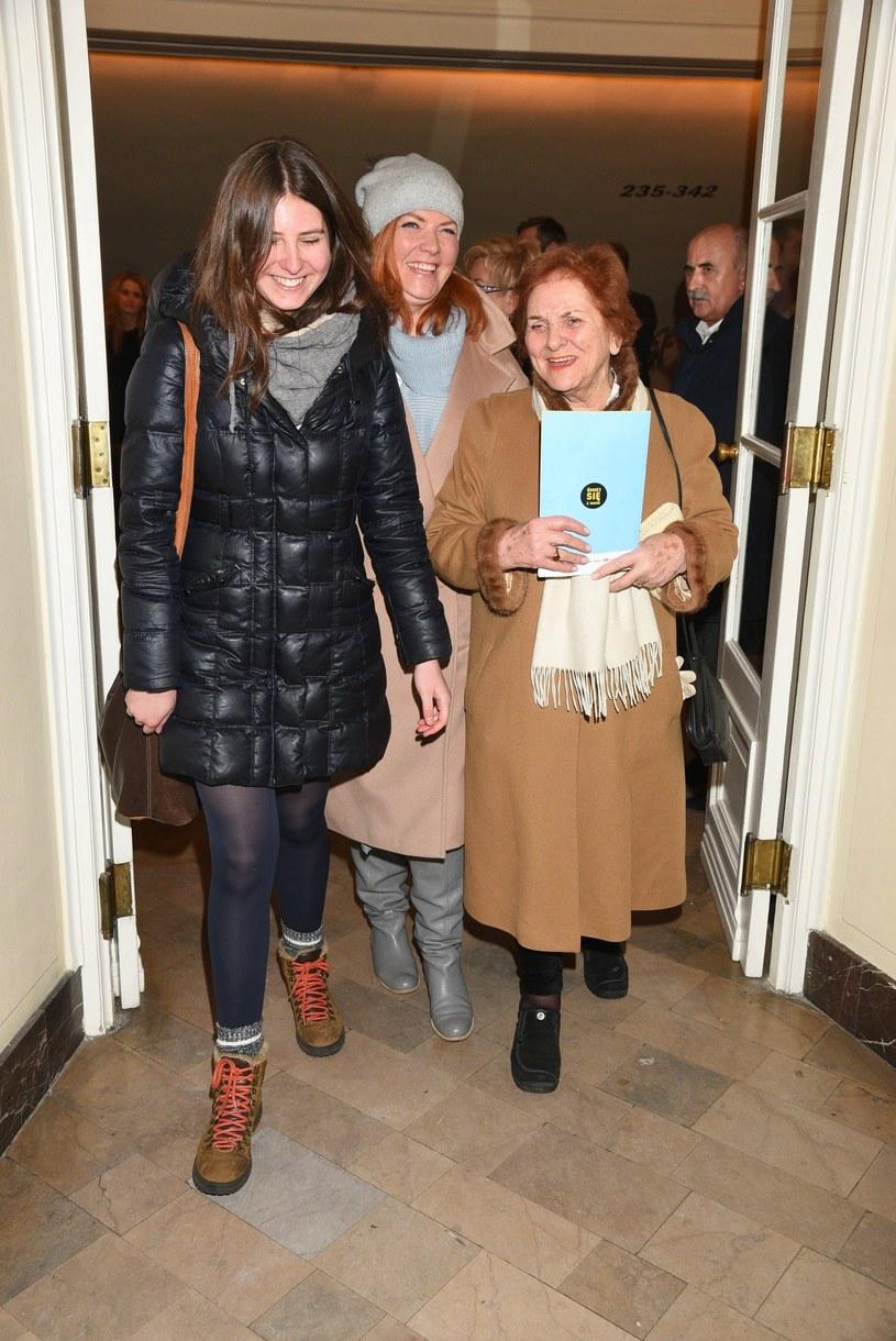 Katarzyna Dowbor z córką Marysią /East News