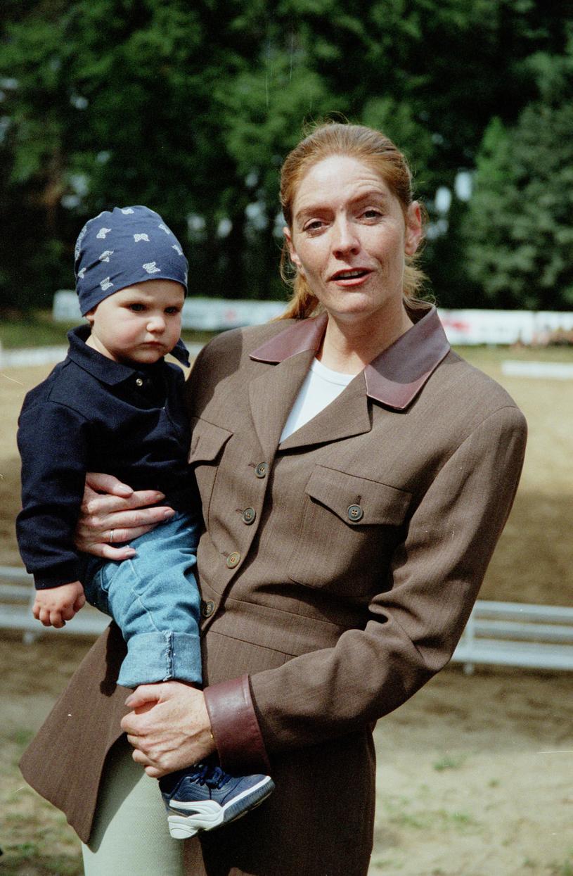 Katarzyna Dowbor z córką /Agencja FORUM